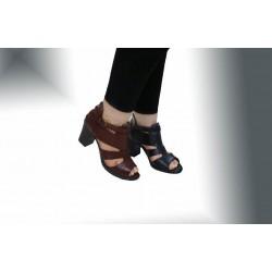 کفش مجلسی زنانه چرم طبیعی